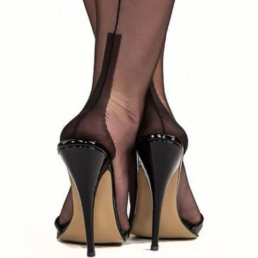 Gio Cuban Heel FF Stockings - Seconds